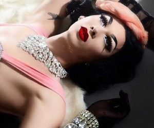 drag queen, violet chachki, and rupaul's drag race image