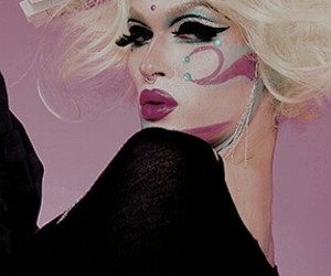 drag queen, pearl, and rupaul's drag race image