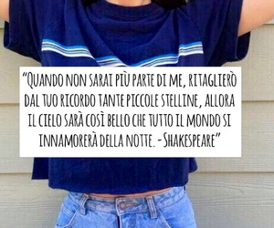 frasi, stelle, and notte image