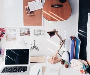 study, desk, and motivation image