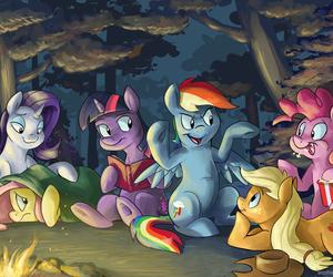 MLP, twilight sparkle, and rainbow dash image