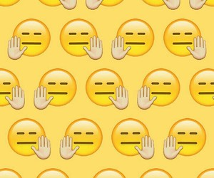 emoticon, pattern, and yellow image