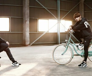 bts, v, and puma image