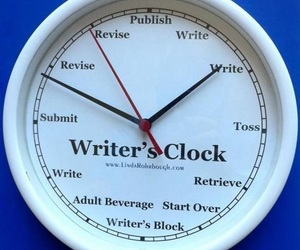 clock, images, and writers image
