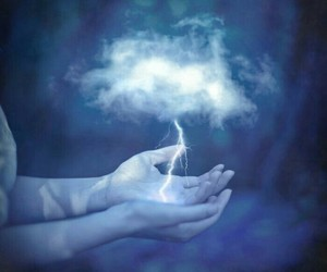 magic, clouds, and fantasy image