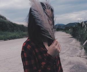 aesthetic, plants, and girl image