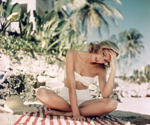 beach, bikini, and grace kelly image