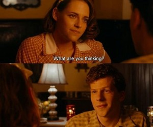 jesse eisenberg, kristen stewart, and movies image