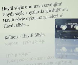 müzik, türkçe sözler, and sarki image