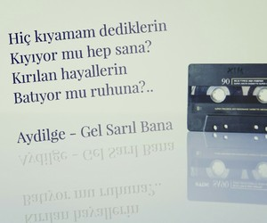 müzik, türkçe sözler, and aydilge image
