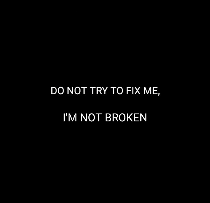 black and white, broken, and confidence image