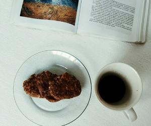 book, breakfast, and Cookies image