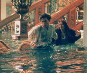titanic, movie, and leonardo dicaprio image