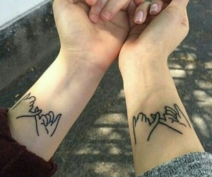 tattoo, friendship, and tumblr image