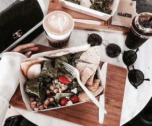 healthy, lunch, and coffee image