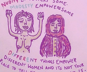 acceptance, nudity, and empower women image