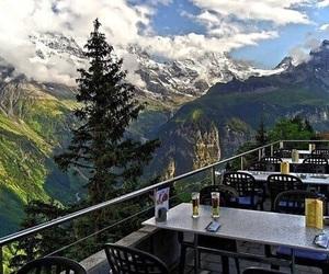 mountains, switzerland, and landscape image
