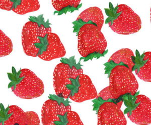 headers, red, and strawberry image