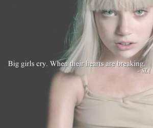 ️sia and big girls cry image