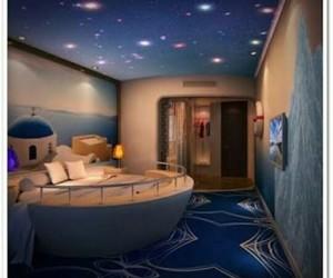 bedroom, dekorasyon, and home image
