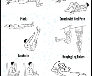 abs workout, abs exercises, and gym workout for abs image