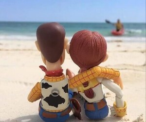 woody, love, and beach image