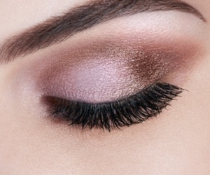 eyeshadow, mascara, and roses image