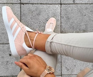 adidas, pink, and fashion image