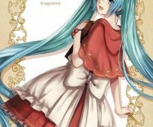 anime girl, vocaloid, and hatsune miku image