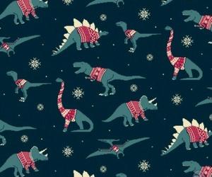 christmas, dinosaur, and funny image