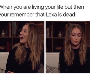 lexa, the 100, and alycia debnam carey image