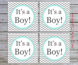 baby shower favors, etsy, and cupcake toppers image