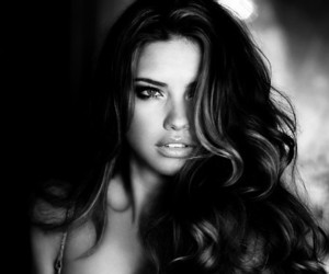 Adriana Lima, model, and hair image