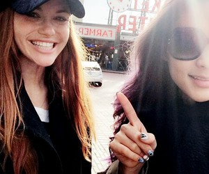 holland roden, teen wolf, and arden cho image