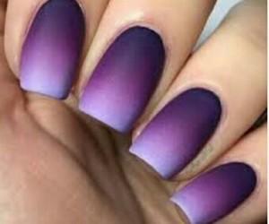 lila, uñas, and violeta image