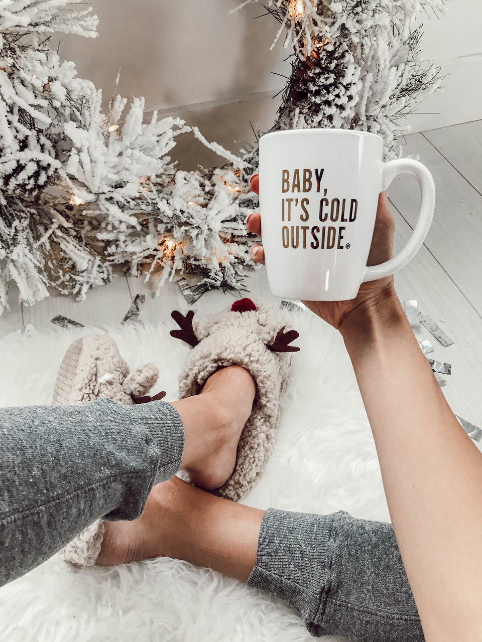 baby it\'s cold outside mug ILY couture on We Heart It