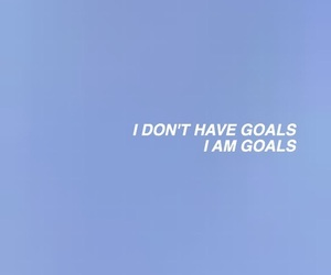 quotes, goals, and blue image