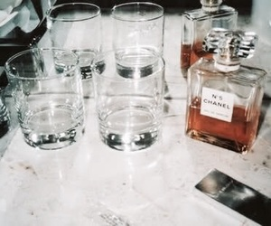 chanel, perfume, and drink image