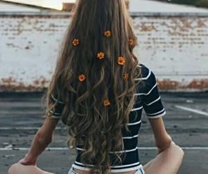 beauty, hair, and hippie image