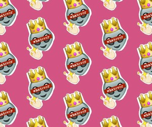 emoticons and pattern image