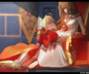 nero, saber, and fate extra image