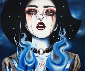 art, witch, and harumi hironaka image