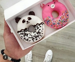 animal, donut, and food image