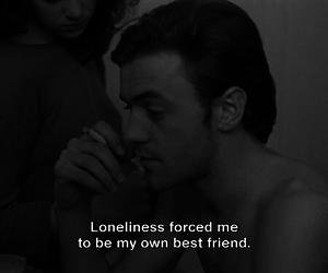 loneliness, sad, and quotes image