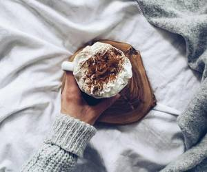 coffee, winter, and hot chocolate image