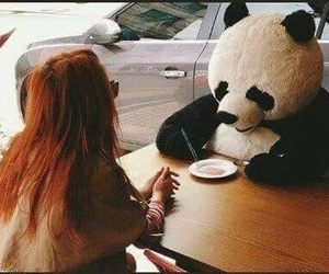 goals, panda, and my boyfriend image