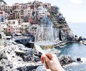 wine, italy, and travel image