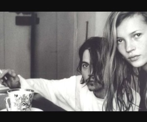 johnny depp and kate moss image