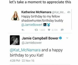 birthday, jace, and clary image