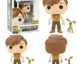 harry potter, fantastic beasts, and funko pop image